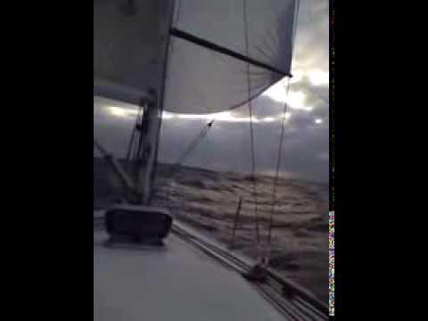 J30 offshore sailing