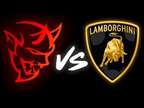 Dodge Demon vs Lamborghini Huracan DRAG RACE | Mod2Fame Fest 2018