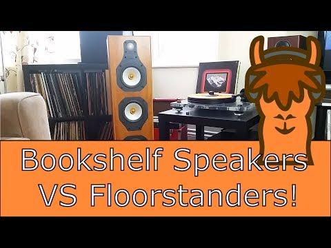 Floorstanders Vs Bookshelf Speakers
