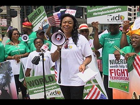 Rally Against Terrorist Attacks in Nigeria