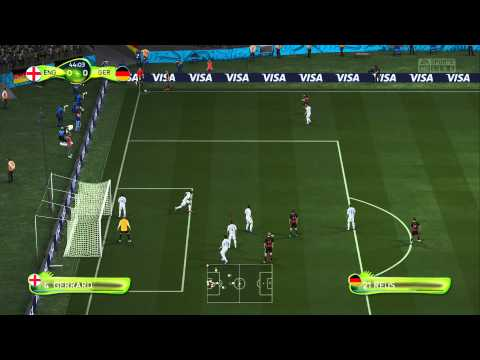 PS4 - FIFA 14 WORLD CUP - England X Germany (FULL MATCH) [HD]