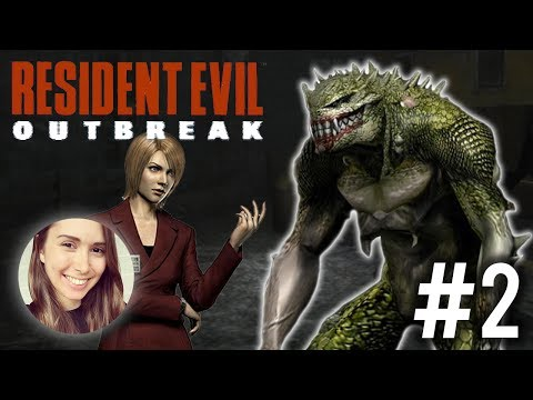 [ Resident Evil Outbreak: File #1 ] The Resi 2 lab!! - Part 2