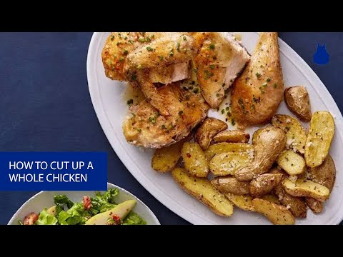 How to Cut up a Whole Roasted Chicken