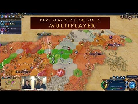 CIVILIZATION VI - Devs Play Multiplayer