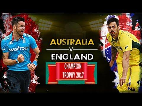 England Vs Australia Live Match Score ICC Champions Trophy 2017