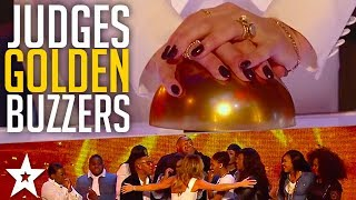 Best GOLDEN BUZZER Moments on Britain\'s Got Talent Part 1 | Got Talent Global