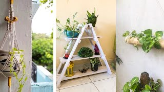 Room Decor With Indoor Plants & Organization