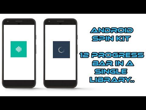 Android Spin Kit | 12 Custom Progress Bar in Single GitHub