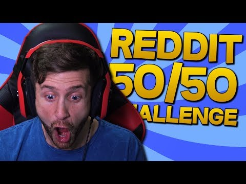WHY WOULD YOU DO THAT?! - Reddit 50/50 Challenge