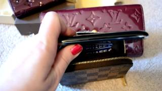Viewer Request: What fits inside of a Louis Vuitton Zippy Coin Purse Wallet Review