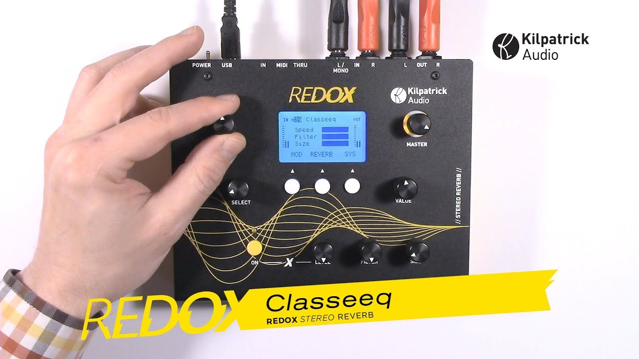 Introducing: REDOX Stereo Reverb
