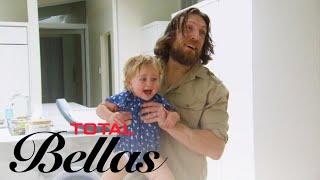 Brie Bella's Cuddly Surprise Scares Birdie to Tears | Total Bellas | E!