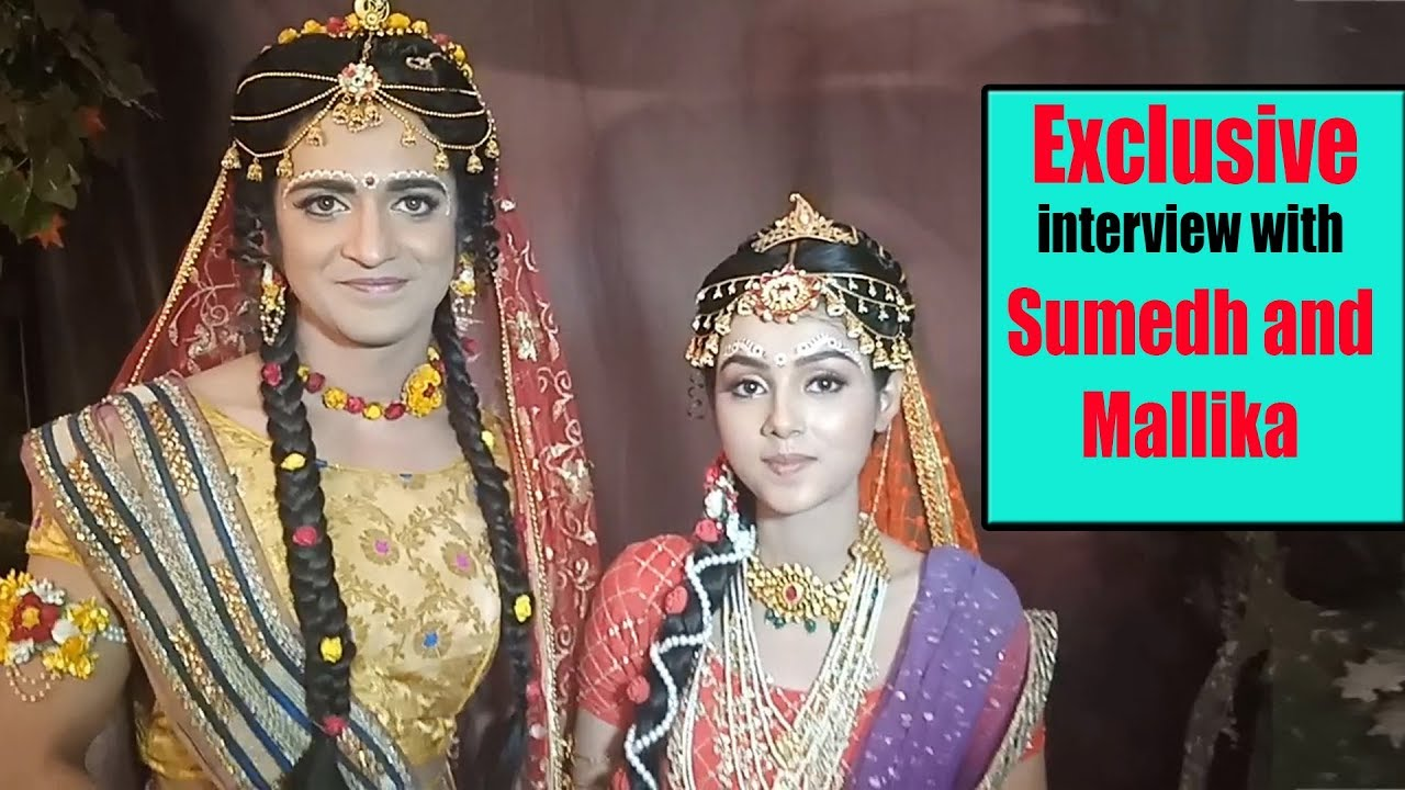 Exclusive Interview with Sumedh and Malika on 100 Episodes completion of  'Radha Krishna'