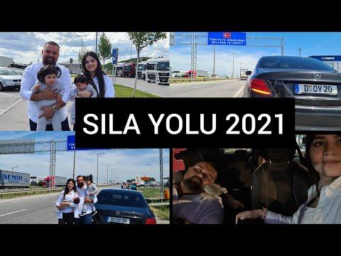 SILA YOLU 2021🚘 || ALMANYA-TÜRKİYE 🇩🇪🇹🇷|| İKİ BEBEKLE UZUN YOL👶👧 || AİLEME SÜPRİZ YAPTIK🥰