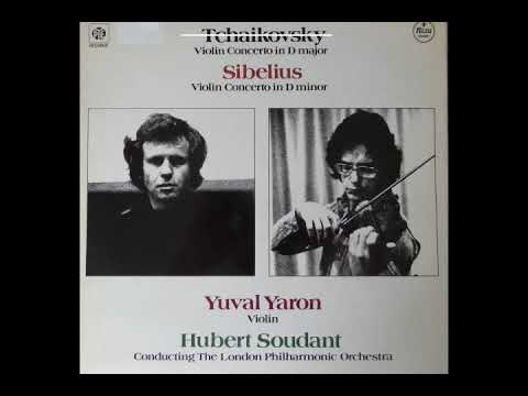 Sibelius: Violin Concerto, Yuval Yaron, violin / Hubert Soudant / London Phil. Orch.  1978