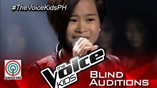 "The Voice Kids Philippines 2015 Blind Audition: ""Wrecking Ball"" by Amira"
