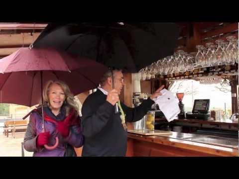 Calçots amb vistes a Montserrat - Restaurant Vinya Nova