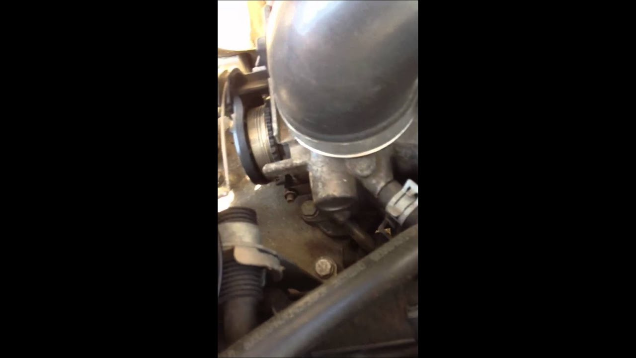 Reset a Saab T7 throttle body from limp home mode