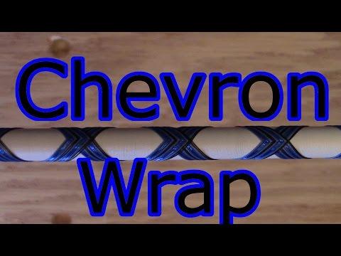 Chevron Wrap For Custom Fishing Rod