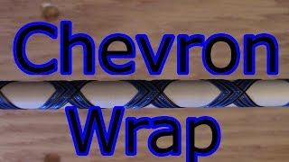 Chevron Wrap For Custom Fishing Rod