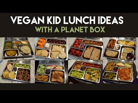 10 Vegan Kid Lunch Ideas with a PlanetBox