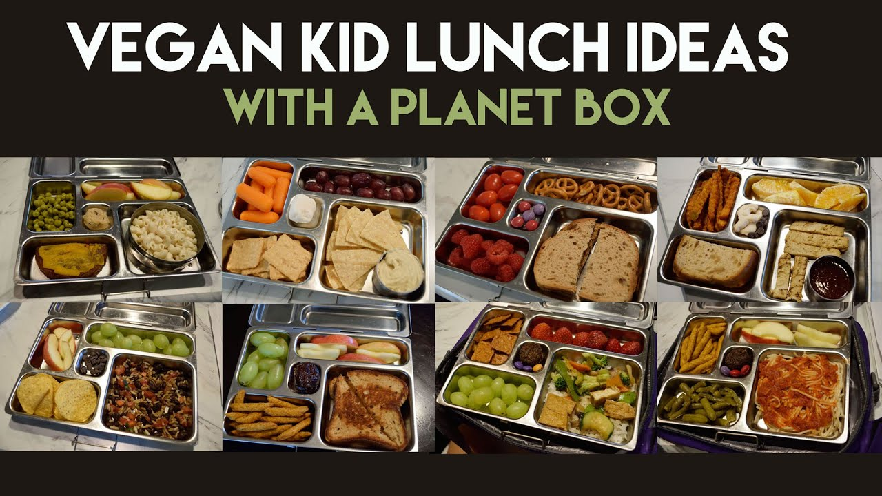 Are you and your kids bored with the same old PB&J? Break out of the lunch box with these 21 vegetarian lunch ideas for kids!