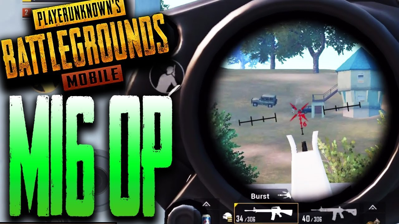 M16 MOST OP AR In PUBG Mobile Duos Vs Squads