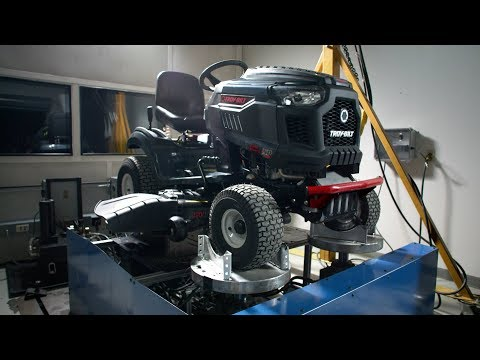 Durability testing | Troy-Bilt® riding mowers | How We're Built