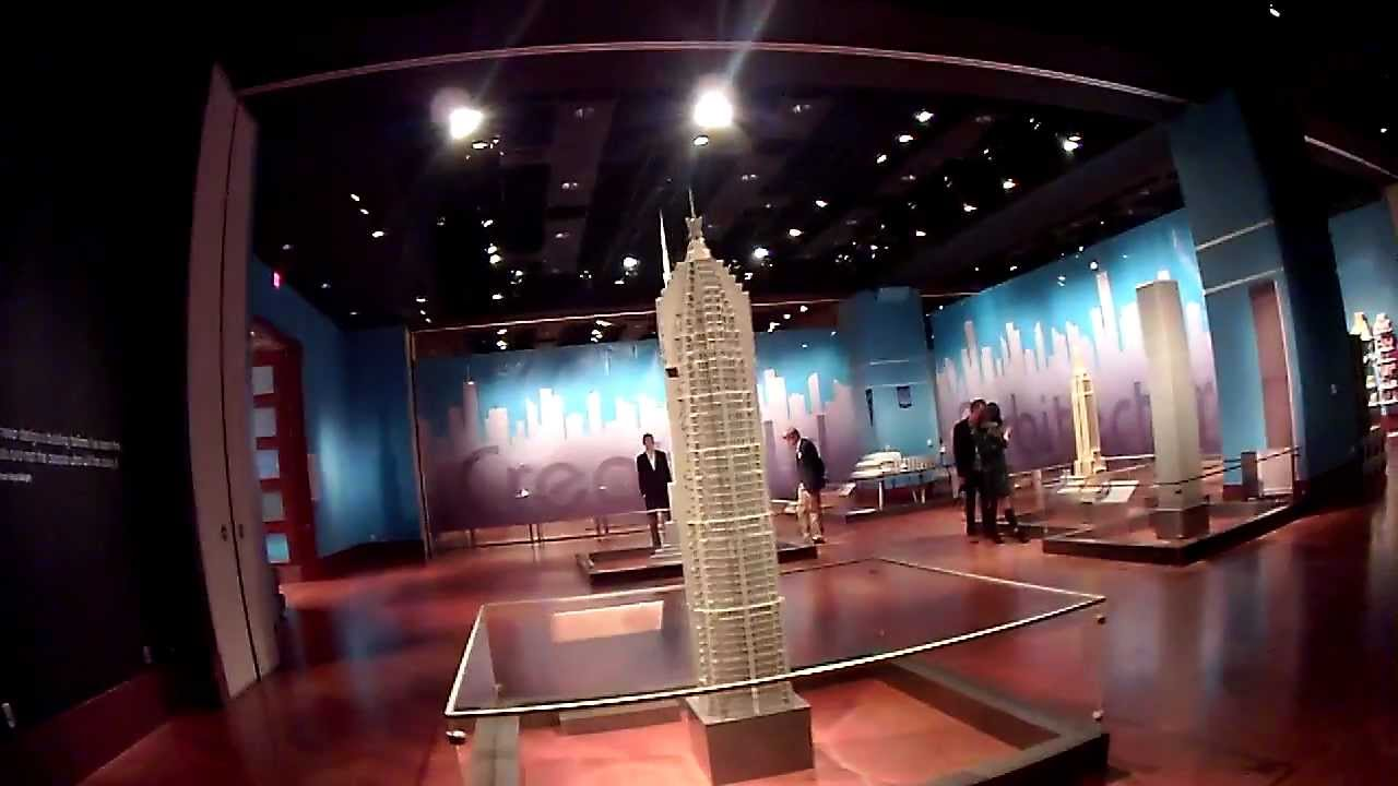 LEGO Architecture Towering Ambition Exhibit Tour At Henry