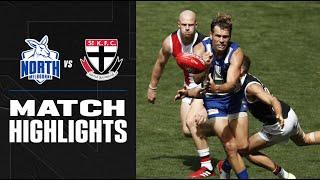 North Melbourne v St Kilda   Round 1, 2020