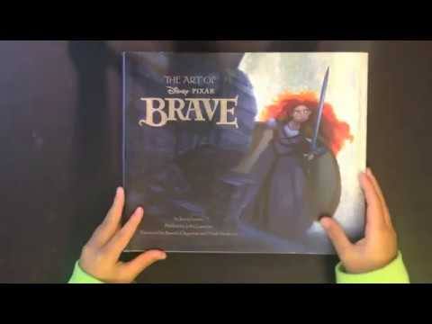 The Art Of Brave Quick Flip Through Review Of The Art Book From