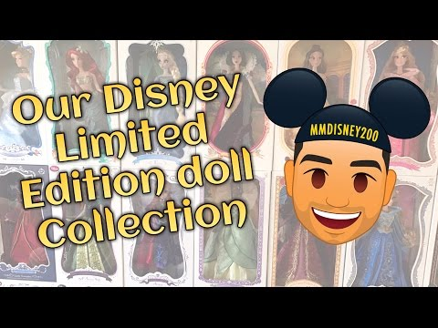 Disney Store 17' Limited Edition Doll Collection (Also Tonner dolls & Out of the Box dolls)