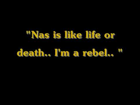 Nas - Nas Is Like ( Lyrics )