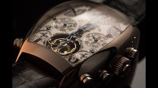 Franck Muller is famous for their grand complications and finely fi...
