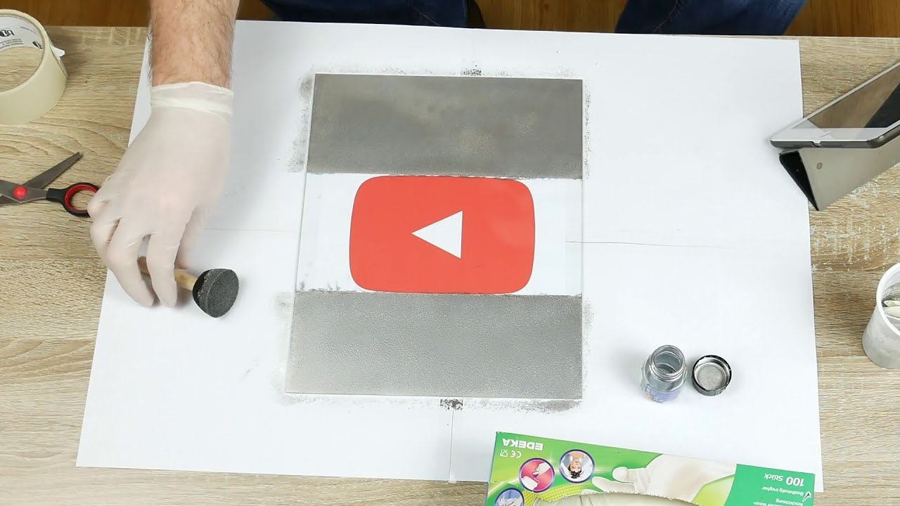 spiegel selber machen i spiegellack test [4k] - youtube
