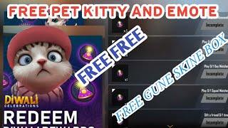 SRB Gamer Live :New Events Free pet kitty and gun skine Box.Emote.Goold