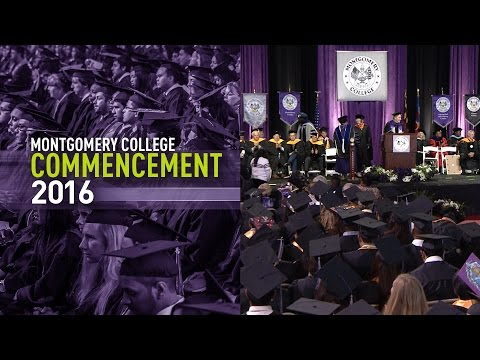 Montgomery College Commencement 2016