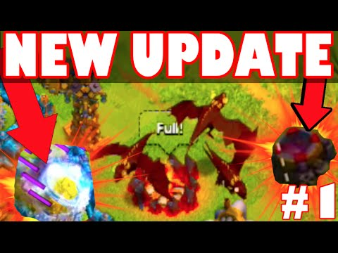 coc new update lvl 5 dragons clash