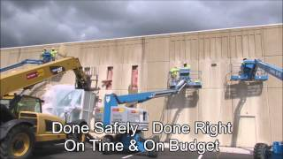 Precast Concrete Wall Sawing