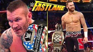 WWE Fastlane 2018 Predictions!