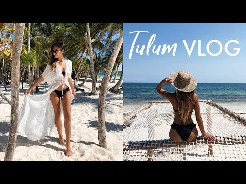 DISCOVERING BEAUTIFUL TULUM, MEXICO  | VLOG #11 | Annie Jaffrey
