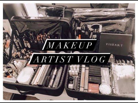 Makeup Studio update +freelance makeup artist kit refresh vlog1   tleemua