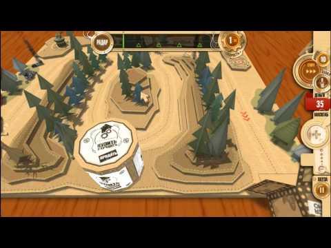 Игры от ALAWAR(№1)(Война в коробке. Бумажные танки)