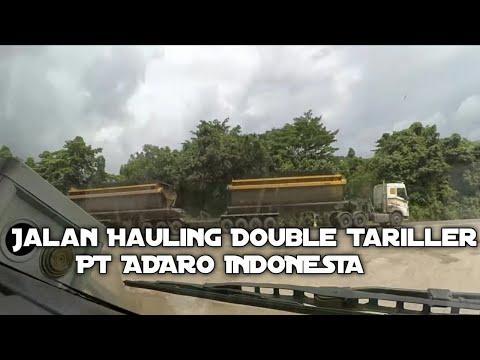 Ini Dia Jalan Hauling Batubara Terbaik Seindonesia Milik PT.adaro Indonesia