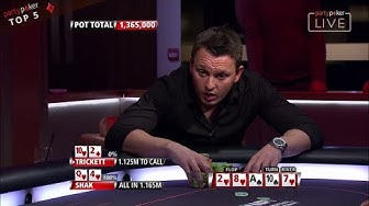 Top 5 Sam Trickett's Best Hands Ever! | Poker Legends