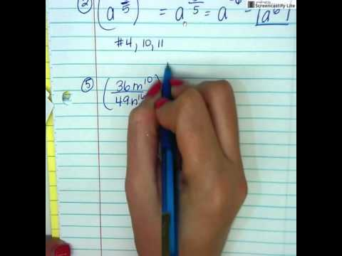 math worksheet : worksheet 36b fractional negative exponents  youtube : Fractional And Negative Indices Worksheet