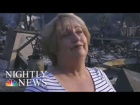 Untamed California Fires Leave At Least 21 Dead | NBC Nightly News