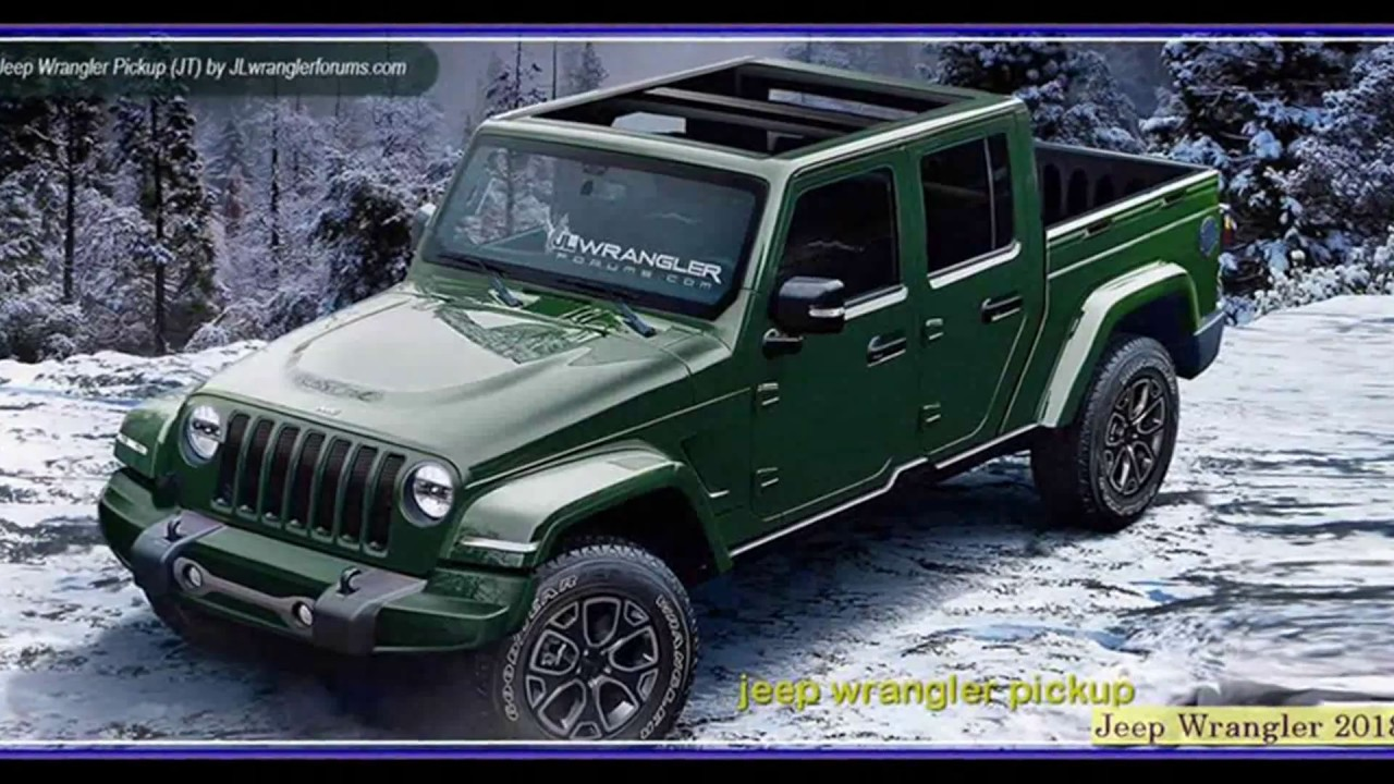 Jeep Wrangler 2018 Unlimited Rubicon Jl Pickup Review