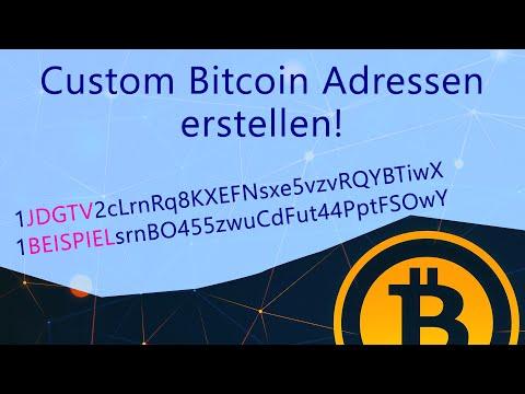 Personalisierte Bitcoin - Adressen erstellen! So gehts. (Vanity Adress)