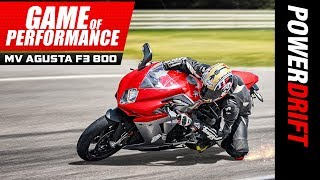 MV Agusta F3 800 : The last middleweight SuperSport : Michelin Game of Performance : PowerDrift